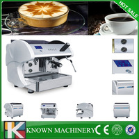 LCD 6L single group top quality commercial espresso coffee machine for cafe
