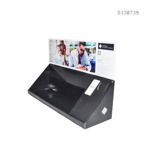 POS Cardboard PDQ Tray for Electronics Products; Full Printed Corrugated Paper Counter Display/Desktop Display