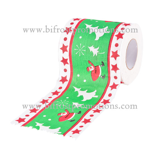 Christmas Pattern Roll Paper Print Interesting Toilet Paper Table Kitchen Paper Towel 10.12 Home Decor