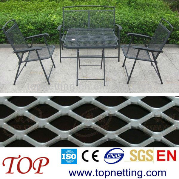 outdoor furniture expanded metal