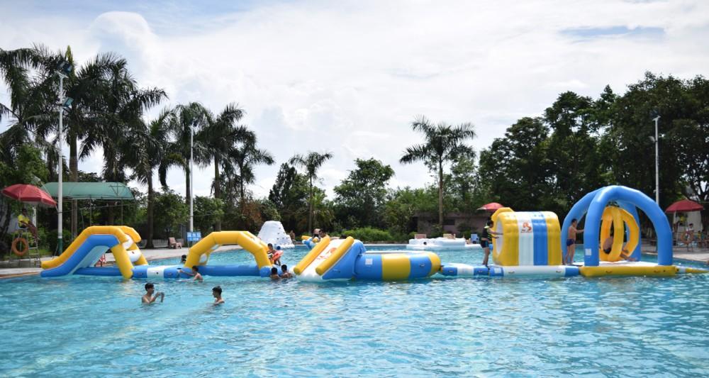 Por Encargo Inflables Agua Flotante Parque Deportivo Juego Para La