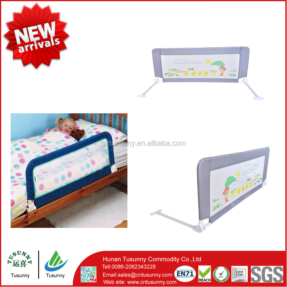 Baby bed fall prevention - Baby Security Bed Safety Rail Bed Fall Prevention Kids Bed Guard