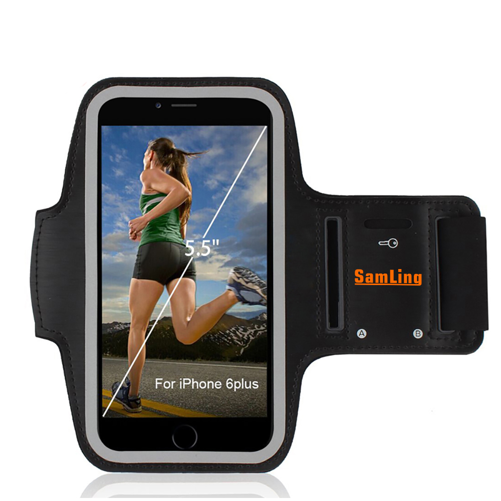 Wholesale Customized Neoprene Sport Armband for Joggers Men and Women