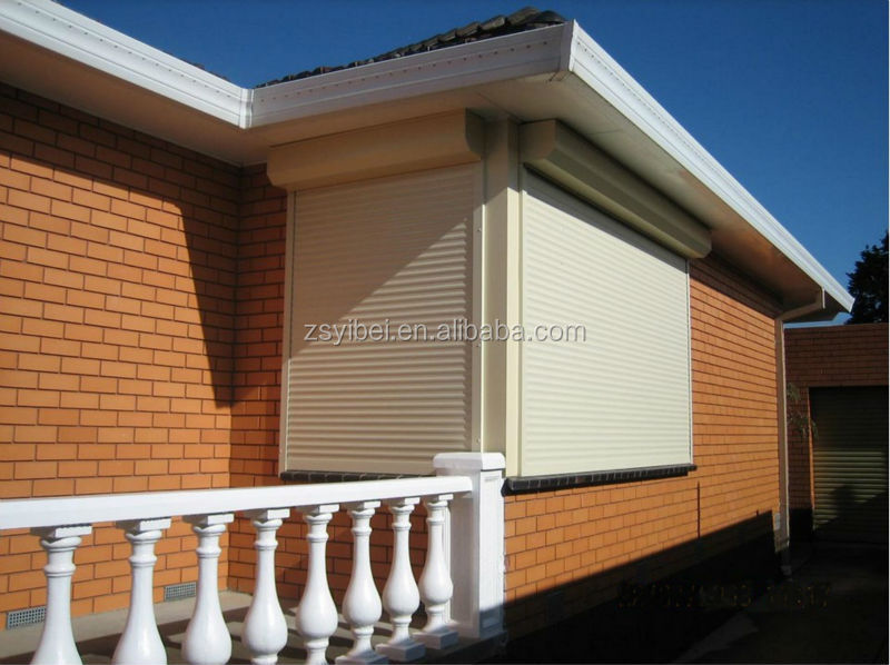 Security High Quality finish aluminum window with magnetic blind