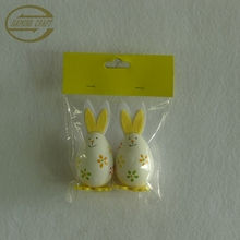 plastic easter bunny hanging crafts