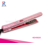 Titanium Ceramic Coating Blingbling Diamond Crystal Hair Flat Iron