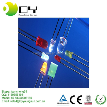 high brightness 5mm straw hat LED diodes