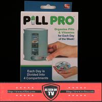 Compact Organizer Medication Pill Vitamin Storage box Pill Pro