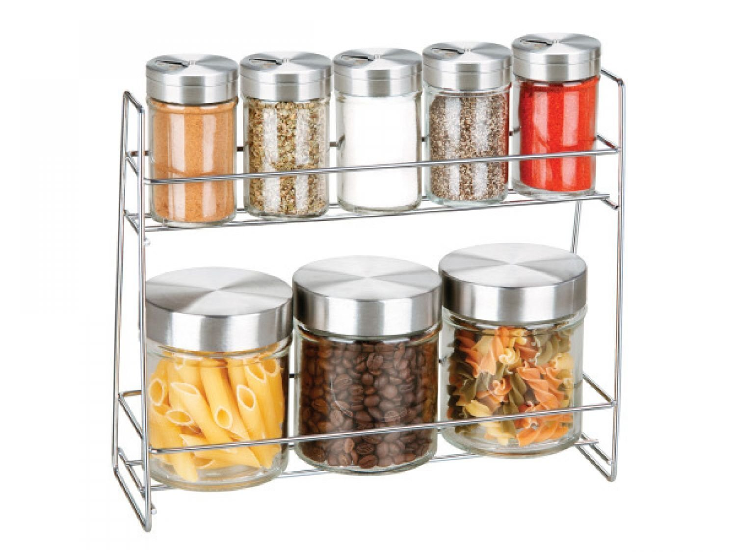 Superieur Get Quotations · Glass Canister Spice Jar Set   Set Of 30, [Kitchen U0026  Dining, Kitchen