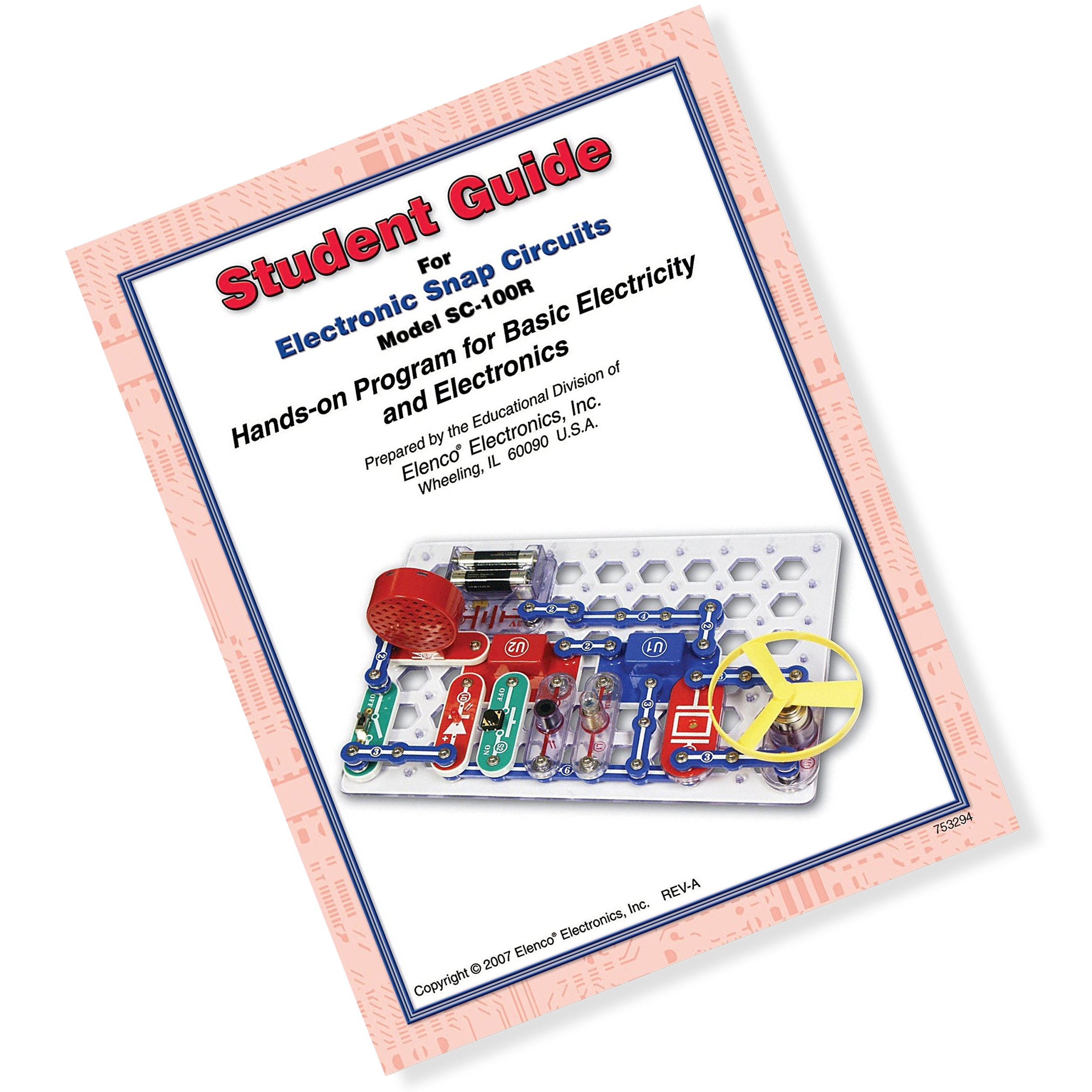 Snap Circuits Jr. Student Guide - Hands on Program for Basic Electricity and Electronics