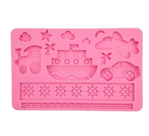 FDA certificated high quality decoration funny silicone Chocolate cake Mold