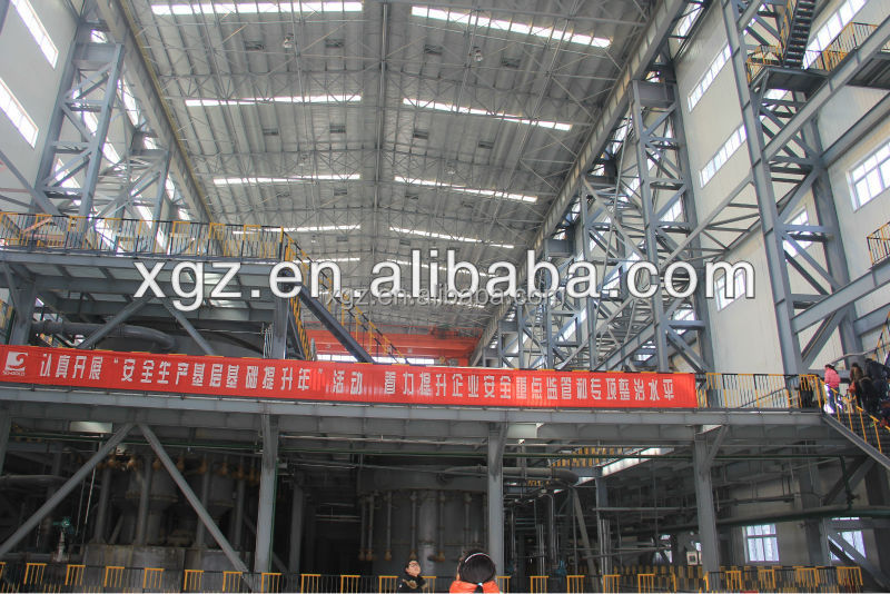 XGZ steel structure for building plants/workshop/warehouse materials