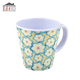 Eco friendly kids melamine plastic mug cup with handle