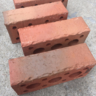 Sintered Hollow red clay brick with different colors