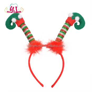 christmas decoration flipped elf legs boppers headband - Elf Legs Christmas Decoration