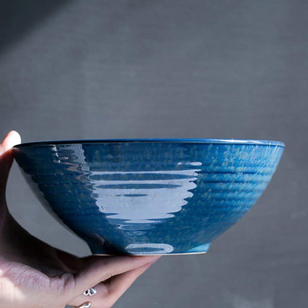 Japanese style Ceramic Rice Bowls Noodle Bowls Pasta Bowls Soup Bowls blue Bowls