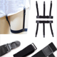 Unisex Business Shirt Stays Garters Leg Belt Suspenders Men Braces For Shirt Holder adijustable length no-slip whosale low price