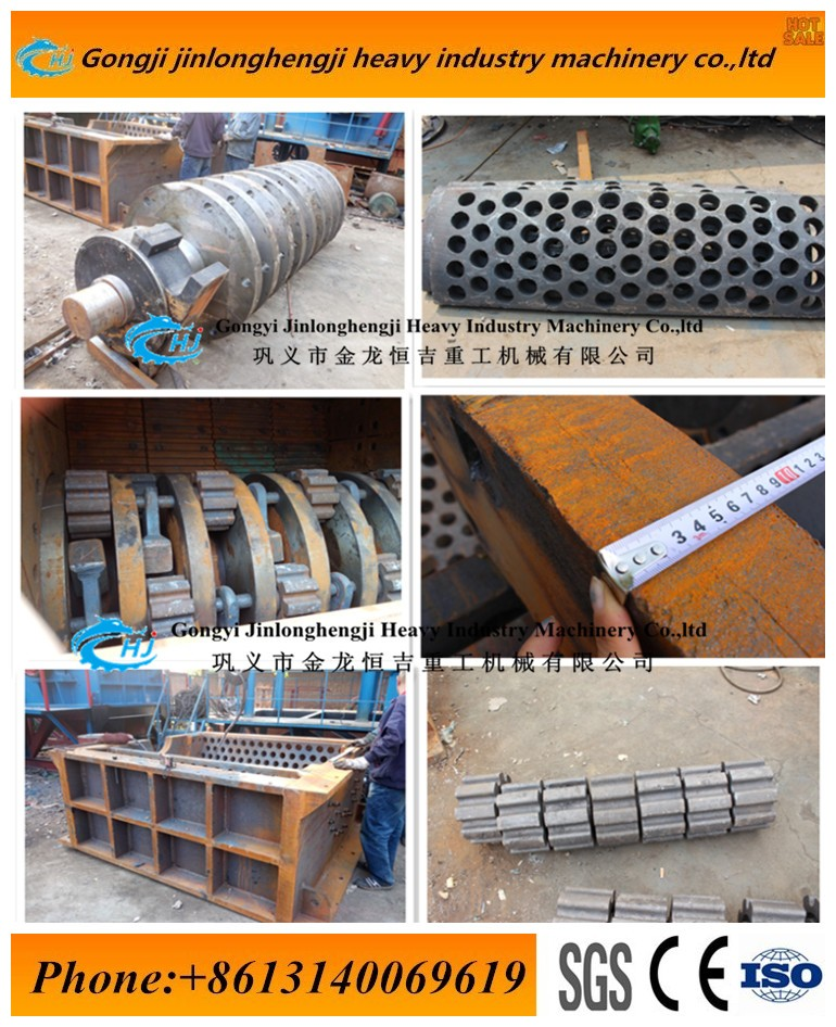 Waste broken production line/scrap car crusher machine recycle in henan