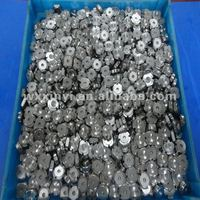 Small orifice for water jet parts