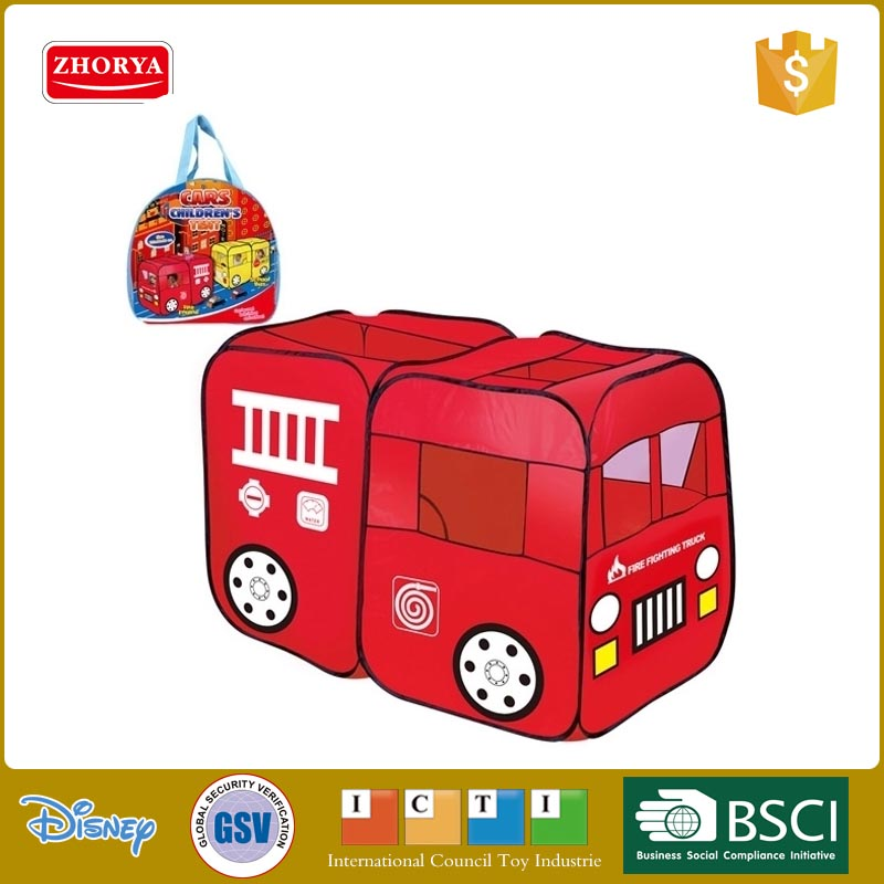 New Style Kids Outdoor House Camping Tent Children Play Tent Toy FIRE TRUCK MODEL