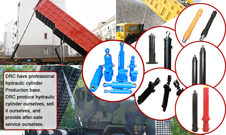 China Excavator Tractor Supply 30 Ton Micro Band Saw Hydraulic Telescopic Cylinder For Tipper Truck