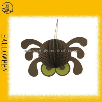 Cute Paper Spider Decorations Halloween Wall Decorations - Buy Paper ...