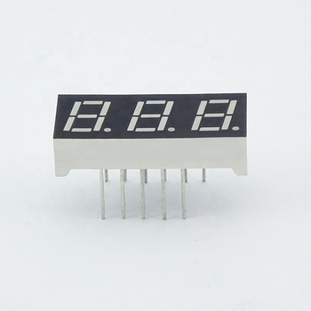 0 28 Inch Pure Green Color 3 Digit 7 Segment Led Numeric Display