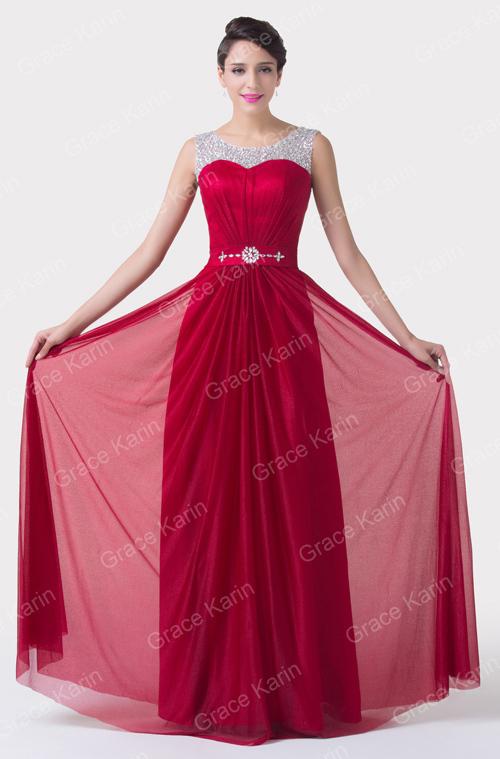 Grace Karin Sleeveless Beaded And Sequins Latest Design Formal ...