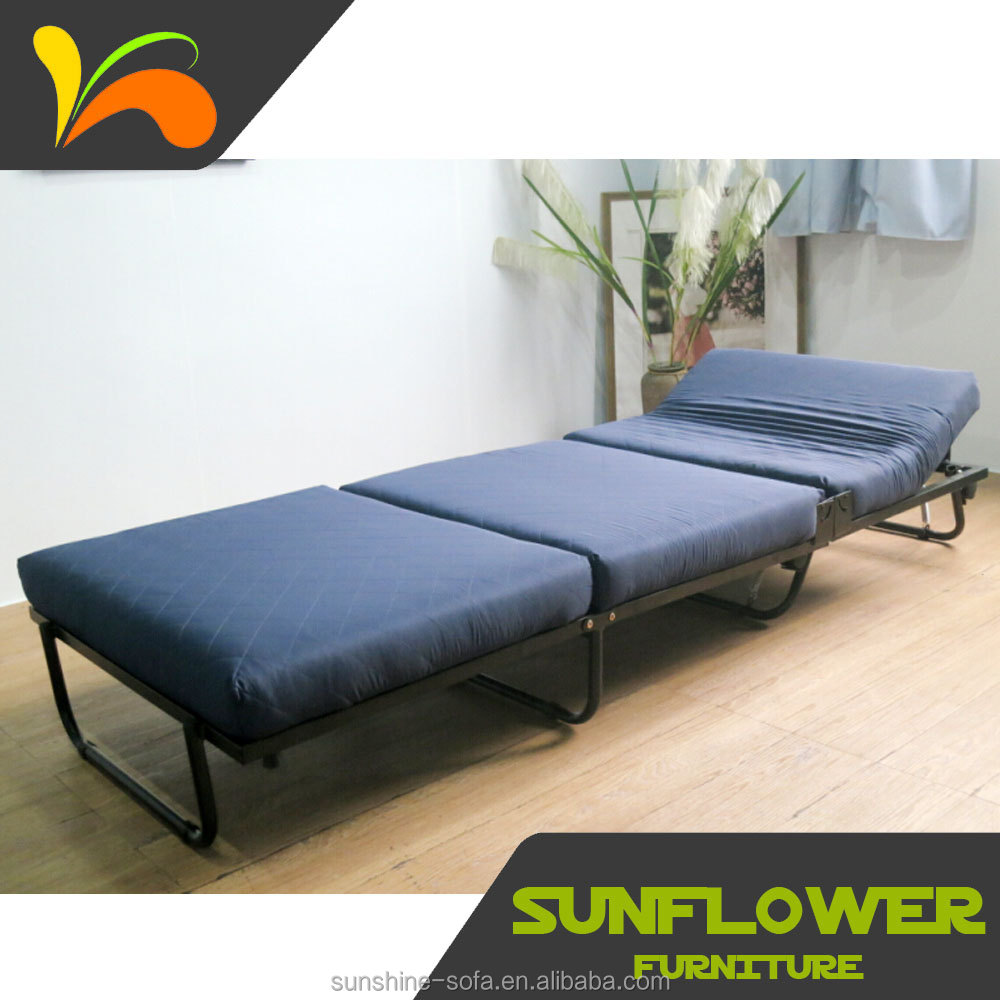 - Fold-out Ottoman Guest Bed & Fabric Cover