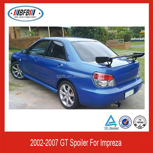 Trunk Boot Spoiler GT style Fit For Impreza 2002~2007