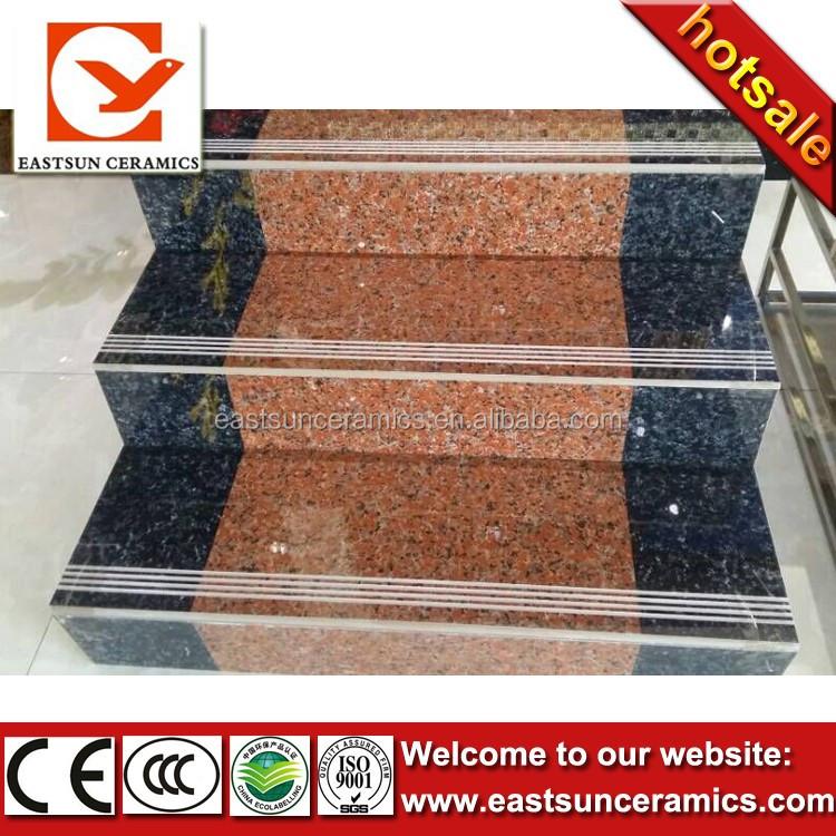Low Price Non Slip Interior Ceramic Tile Stair Nosing,step Tile,stair Tile
