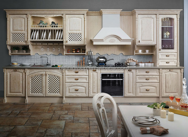 Classic Kitchen Cabinets Amusing European Style Wood Kitchen Cabinetvintage Kitchen Cabinets Design Decoration