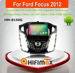 HIFIMAX Android 6.0 head unit for ford focus 2012 - 2015 for ford focus mk2 for ford focus mk3 car audio system with gps