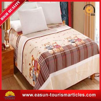 Low Price Cotton Sheets Velvet Bed Sheet