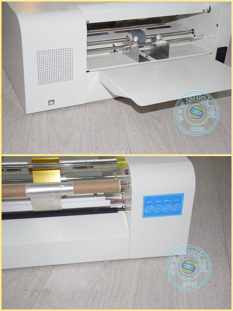 computer control plateless digital hot foil stamping machine india