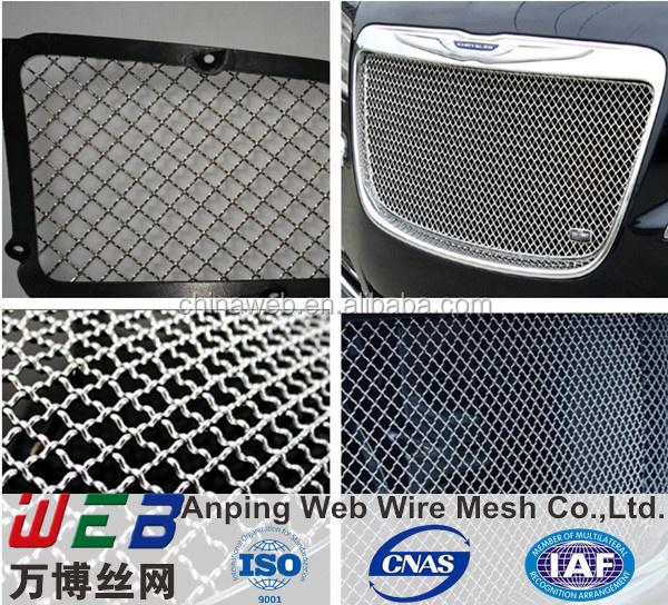 Stainless Steel 316 Woven Mesh Custom Grill Mesh For Cars - Buy Custom  Grill Mesh,Stainless Steel Woven Mesh Grille,Stainless Steel Mesh Car  Grilles
