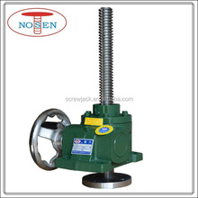 NOSEN manual operated screw jack 2 ton screw jack with flange