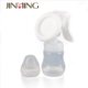 Jinming OEM brand supplier BPA free FDA approved Silicone Breast Pump Manual forBaby milk feeding