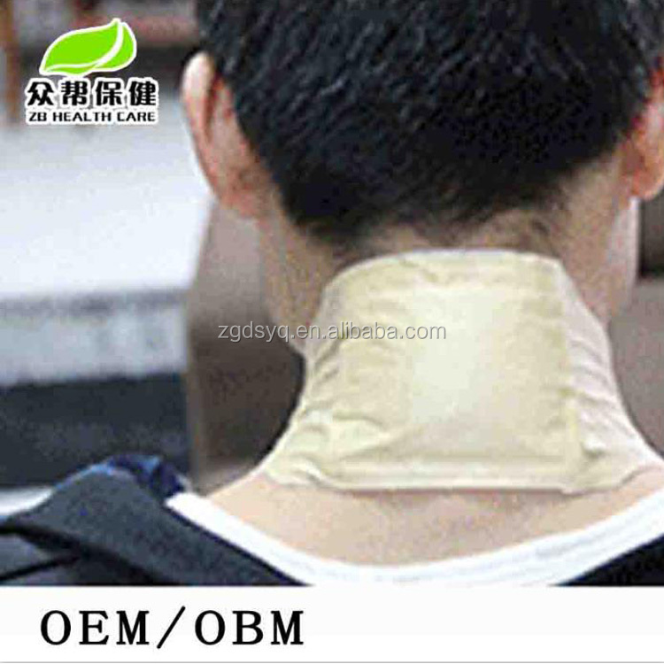 OEM China hot pain relief plaster herbal back pain relief