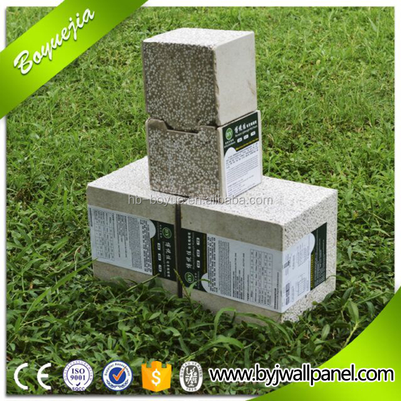 Supplying low price high quality styrofoam cement blocks with EPS beads