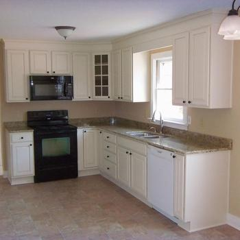 New Model Wood Kitchen Cabinets For Small Kitchen Used ... on Kitchen Model  id=45874