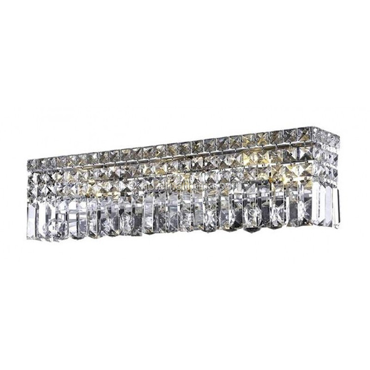 Wall sconce brass lamp crystal chandeliers long crystal wall lamp 32439