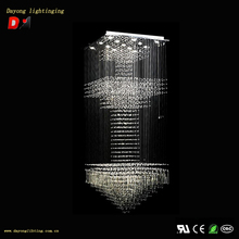fake crystal chandelier DY3328-9 2014 New Stainless Steel ,Crystal Chandelier,Modern Chandelier