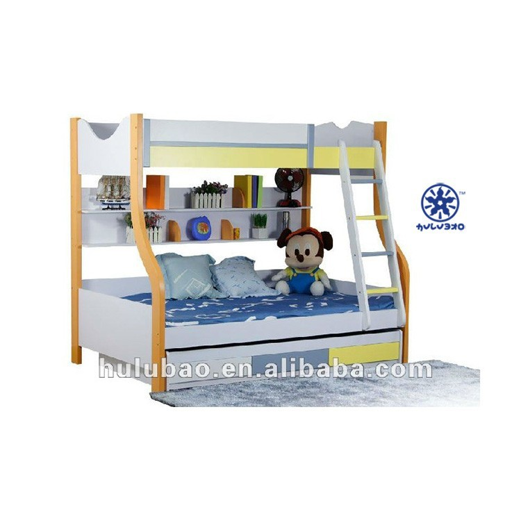 Popular Space Saving Double Bed Design Bunk Bed Child Furniture ...