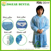 PB016 ZOGEAR disposable lab gown, non woven medical