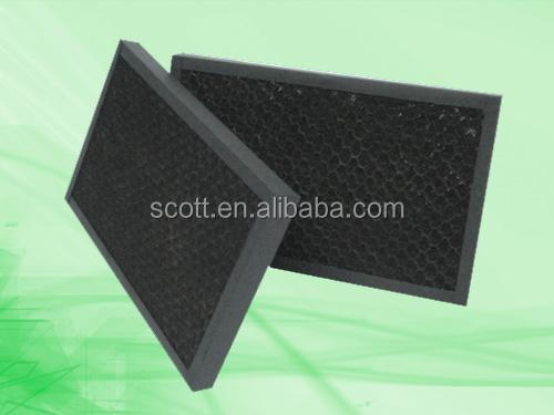 Chemical Fumes Removal Honeycomb Activated Carbon Filter Mesh ...