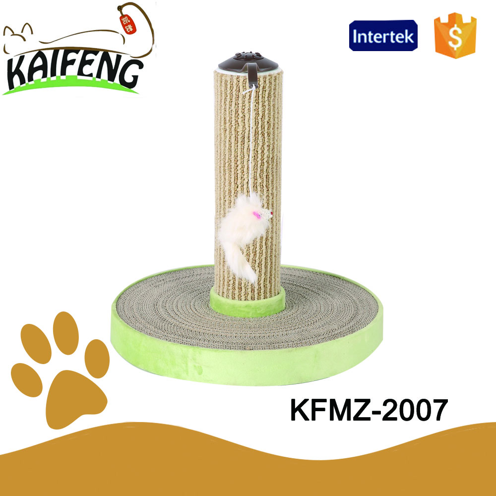 new sale 2016 cat applications recycled paper tube material play toys, customized cat scratcher climbing post