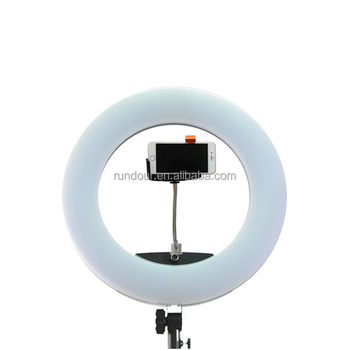 "Newest model led circle light 4800lm led ring fill light for photography FS/FD/FE480II 18"" 96W 480 LED makeup light"