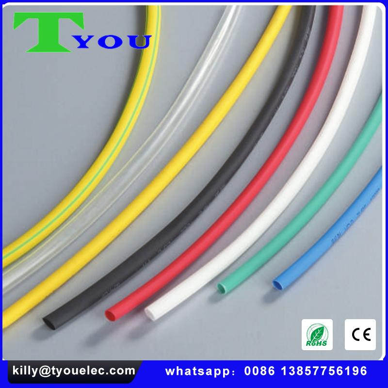 1-35kv Ul Heat Shrinkable Tube,Colorful Shrinkable Sleeve Tubing Fire on