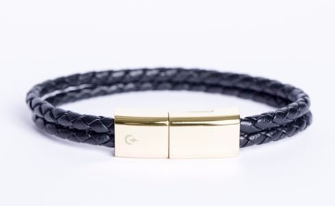 Leather Bracelet Usb Cable For Android And Iphone